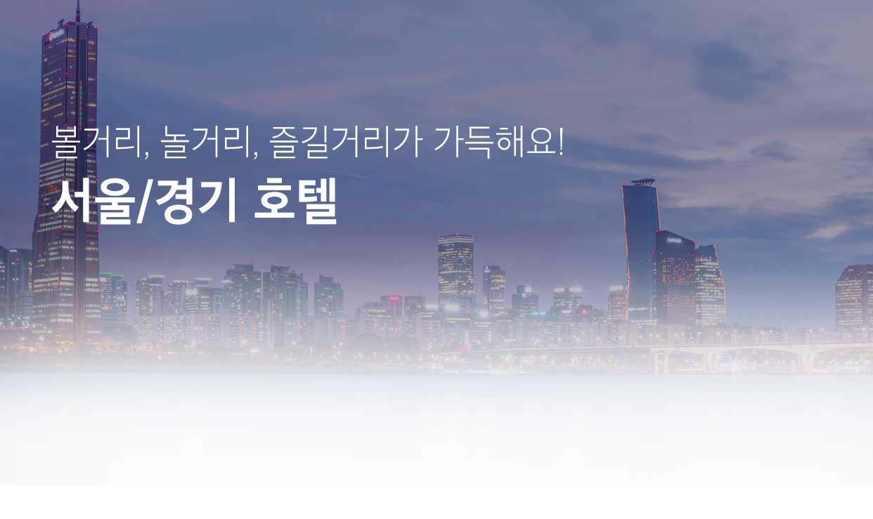 서울/경기 호텔